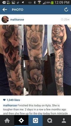 Composition reference (placement and sizing of roses)