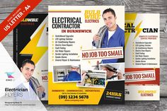 Electrician Flyer Templates - Flyers