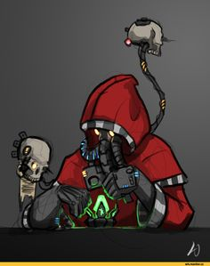 Techpriest,Adeptus Mechanicus,Mechanicum,Imperium,Империум,Warhammer 40000,warhammer40000, warhammer40k, warhammer 40k, ваха, сорокотысячник,фэндомы,Servo Skull