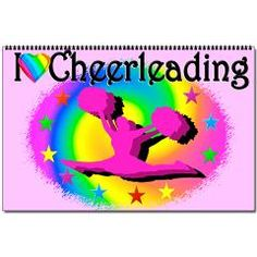 http://www.cafepress.com/sportsstar.1350665739 Colorful Cheerleading calendar  to be enjoyed every month. #Cheerleader #Cheerleading #Cheering #Cheerleadingteam #Lovetocheer #Borntocheer #Cheerleadinggift #Cheerleadergift