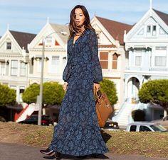 Aimee Song maxi dress