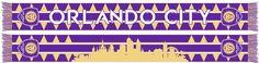 ORLANDO CITY SCARF - Skyline