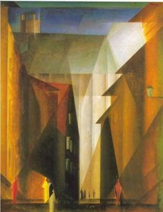 Lyonel Feininger, Barfuesserkirche I, 1924