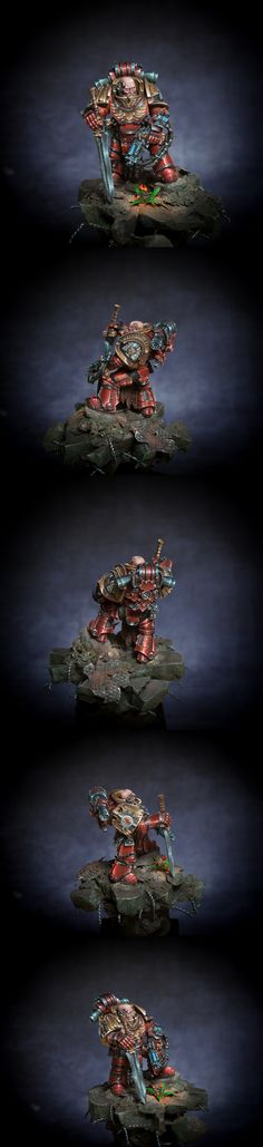 Blood Angel Legion Praetor (Silver GD Germany 2013)