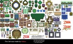 The Legend of Zelda: A Link to the Past - BG Kit 1