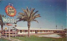 Sun Land Motel Mesa Arizona Post Card