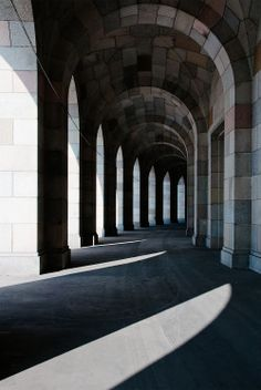 Kongresshalle  Arcade Walk  Nuremberg  Germany  Ludwig and Ranz Ruff