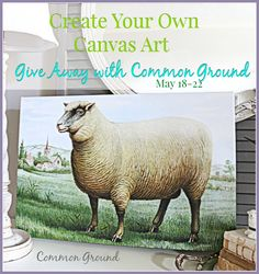 Common Ground: Create Your Own Canvas Art