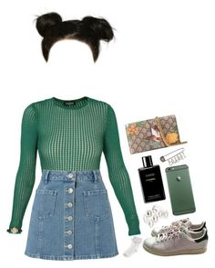 """""""Untitled #244"""" by kaylastar221 ❤ liked on Polyvore featuring Balmain, Miss Selfridge, adidas, Lipsy, Chanel, Gucci, Monsoon and Cartier"""