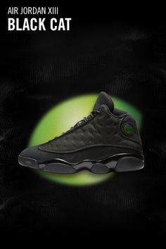 1d22a906f425 Explore and buy the Air Jordan 13 Retro  Black Cat .