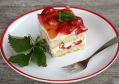 Nepečený smotanovo-jahodový zákusok, recept s fotopostupom Oreo Cupcakes, Tiramisu, Cheesecake, Deserts, Food And Drink, Pudding, Treats, Sweet, Foods