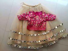 Kids Dress Wear, Diy Dress, Kids Dress Patterns, Shadi Dresses, Girl Fashion, Girls Dresses, How To Wear, Pakistani, Tops