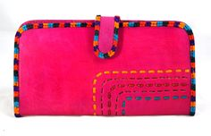 This Hand purse, women's kk Clutch is durable, courtesy its leather make daily essentials with multiple card slots,5 credit card slots. One for driving license. 1 extra photo window. 1 note compartment for currency. Classic style with specious features secure mouth closure by a button.  #Buyhandbagsonline #HandmadeHandbags #Authenticdesignerhandbags #Womenswallets #Pursesonline #Handmadeitems #Styleincraft