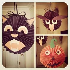 diy halloween decorations | DIY Hanging Halloween Decorations | Flickr - Photo Sharing!