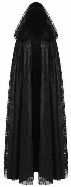 Gothic Fashion 775674735790263909 - black lace & velvet hooded cape ♥ Source by Witch Fashion, Dark Fashion, Gothic Fashion, Vampire Fashion, Mode Outfits, Fashion Outfits, Fashion Tips, Fashion Clothes, Style Fashion