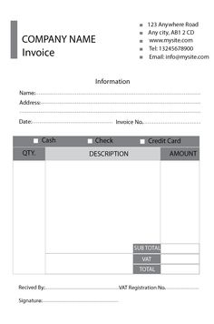 Download A Free Billing Invoice Template For Excel Designed For