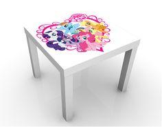 sweet My little Pony Heart design table