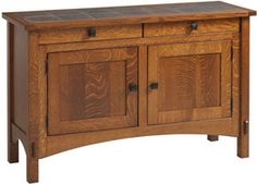 Amish Outlet Store : Heartland Mission Sofa Table in Oak
