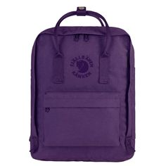 Buy your Kanken backpack in Fjallraven official web store. Our iconic Kanken backpacks comes in different sizes and colours. Mochila Kanken, Re Kanken, Fjallraven, Recycling, Minimalist Bag, Recycled Fashion, Looks Style, Black Backpack, Backpack Bags