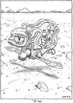 """Moebius From """"La Faune de Mars"""" (Wildlife of Mars) - Moebius Productions, Stardom - Paris (March 2011)"""