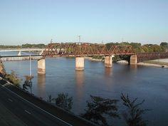 Bridge over the Coosa River ~ Gadsden, Alabama