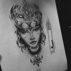 49 new ideas for tattoo wolf leg black Bull Tattoos, Forarm Tattoos, Leg Tattoos, Body Art Tattoos, Tattoos For Guys, Sleeve Tattoos, Tattoo Sketches, Tattoo Drawings, Red Indian Tattoo
