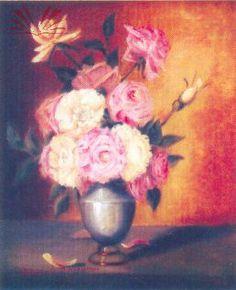 Vaso de flores - Georgina de Albuquerque
