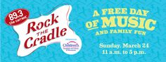Rock the Cradle - Sunday March 24, 2013.  Read my mixed review here: http://www.freefamilyfun.org/?p=8951