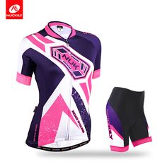 Nuckily Summer Women's 2016 new design cool max hot sale 4 back pockets outdoor Cycling Wear GA013GB013 * Shop 4 Xmas n 2018. Just click the image to view the details on  AliExpress.com. #xmasgiftideas