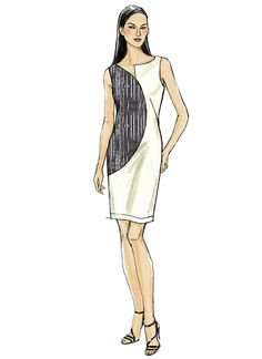 Explore our wonderful choice of Vogue Sewing Patterns browse dress patterns, tops, jackets, skirts, vintage and more all with fast delivery from Jaycotts Dress Making Patterns, Vogue Sewing Patterns, Miss Dress, Costume, Mode Style, Top Pattern, Fashion Sketches, Dressmaking, Dresses For Work