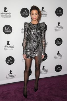 Kate Beckinsale Attends LA Art Show 2019 - CelebVegas Nylons, In Pantyhose, Pantyhose Fashion, Pantyhose Outfits, Hottest Female Celebrities, Celebs, Sexy Older Women, Sexy Women, Famous Girls
