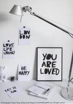 You ARE loved. Bodie and Fou cards set of 4 sold here http://rstyle.me/n/ujei23zen