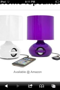 iLamp Speaker for your iPod! An actual lamp!