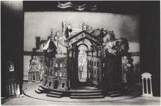 171. «Двенадцатая ночь» В.А. Фаворский. Макет. 1933