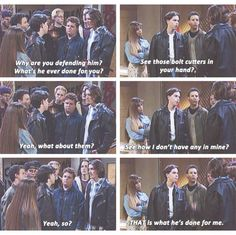 That's what he's done for me. Boy Meets World