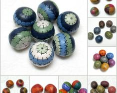 Polymer clay tutorial How to Make Hollow Polymer Clay Beads with intricate patterns TUTORIAL COMBO Instant Digital Download