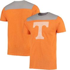 Tennessee Volunteers Champion Spike Color Block T-Shirt - Heathered Tennessee Orange - $25.99