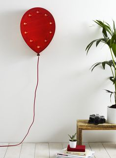 Photo 1 of Red Balloon Marquee Light More