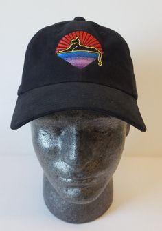 68feab58 Jerry Garcia Hat/ Cats Under the Stars embroidered Ball cap. One of our  favorite images from Jerry Garcia and the Grateful Dead