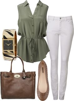 """""""Khaki"""" by august29 on Polyvore"""