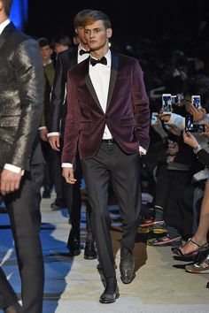 My favorite look from @Dsquared2 FW15 Men Show Collection