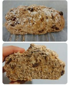Pan integral con avena y pasas Low Carb Recipes, Healthy Recipes, Healthy Food, High Protein Low Carb, Our Daily Bread, Sin Gluten, Banana Bread, Natural, Eat