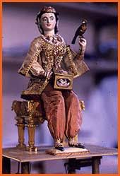 The singing lesson a pygmy automaton created by Stèvenard - The website of automatons, automata and androids.