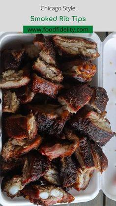 Best Bbq Recipes, Smoker Recipes, Barbecue Recipes, Grilling Recipes, Pork Recipes, Delicious Recipes, Smoked Rib Tips Recipe, Pork And Beef Recipe, Grilled Vegetable Recipes
