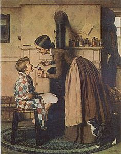 """Medicine""    Norman Rockwell"