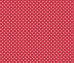 Spring_Cheater Quilt Red___White_Polka_Dots fabric by ©_lana_gordon_rast_ on Spoonflower - custom fabric