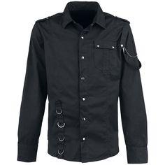 Chained - Camicia by Gothicana - Codice articolo: 263801 - da 49,99 € - EMP Italia - T-shirt, Merchandise, Abbigliamento Rock, Gothic, Metal...