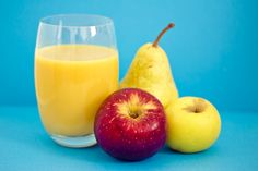 This pear and apple smoothie contains more than 25% of your RDA of Vitamin-B12 and 28% of the RDA of calcium, providing both a healthy boost of energy and essential support for healthy bones.  You'll also get more fiber than in two slices of whole wheat bread. Apple seeds can be toxic when ground, so keep ...