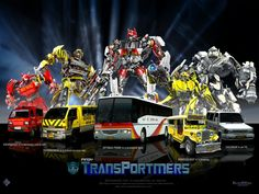 cars transformers Transportmers Wallpaper