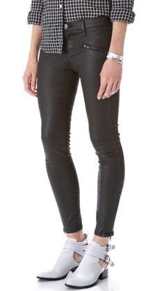 Current/Elliott The Soho Zip Stiletto Jeans | SHOPBOP